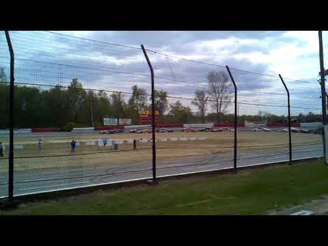 Plymouth, Indiana. - dirt track racing video image