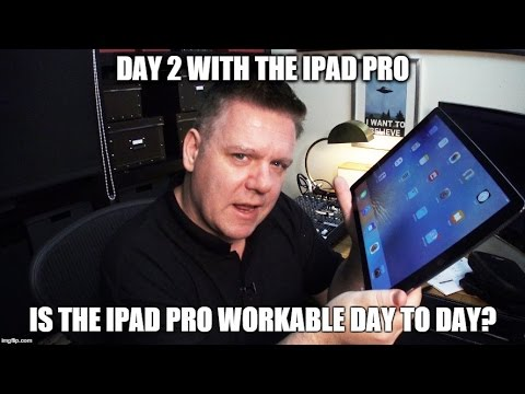 iPad Pro - My Thoughts After 2 days!