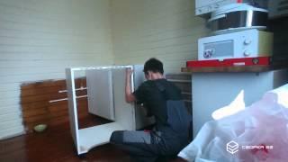 Сборка кухни «Metod» IKEA :: Сборка62.РФ(Стоимость сборки этой кухни: 1. Сборка: 1500 руб/пм * 3,5 м / 2 = 2625 рублей; 2. Вырез под коммуникации: 100 руб/шт * 22..., 2015-12-12T09:22:47.000Z)