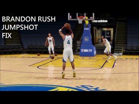 2k16 Brandon Rush Jumpshot Fix