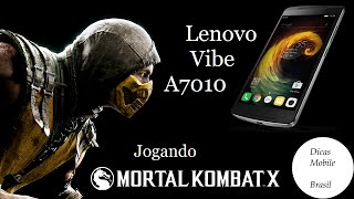 Jogando Mortal Kombat X no Lenovo Vibe A7010 - Dicas Mobile Brasil