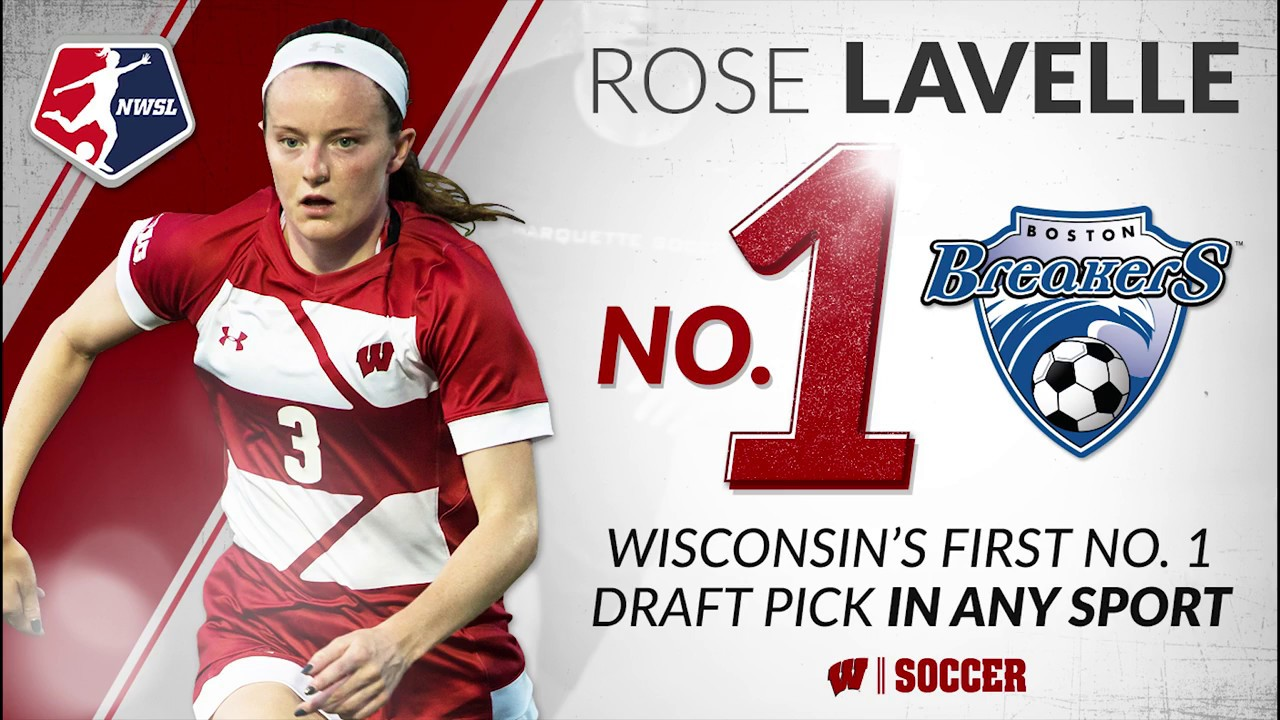 5632c045d4b Rose Lavelle Selected No. 1 Overall by Boston in 2017 NWSL Draft ...