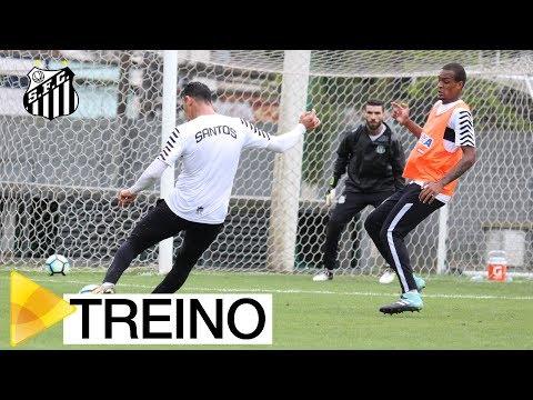 Treino do Santos FC (01/09/17)