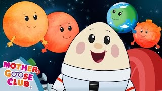 Eight Planets | Featuring Humpty Dumpty | Mother Goose Club Kid Songs and Nursery Rhymes thumbnail