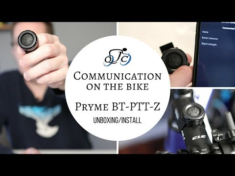 Pryme BT-PTT-Z Button To Chat On The Bike