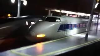 【鉄道模型】懐かしいクリスマスエクスプレスのCMの様にやってみました。
