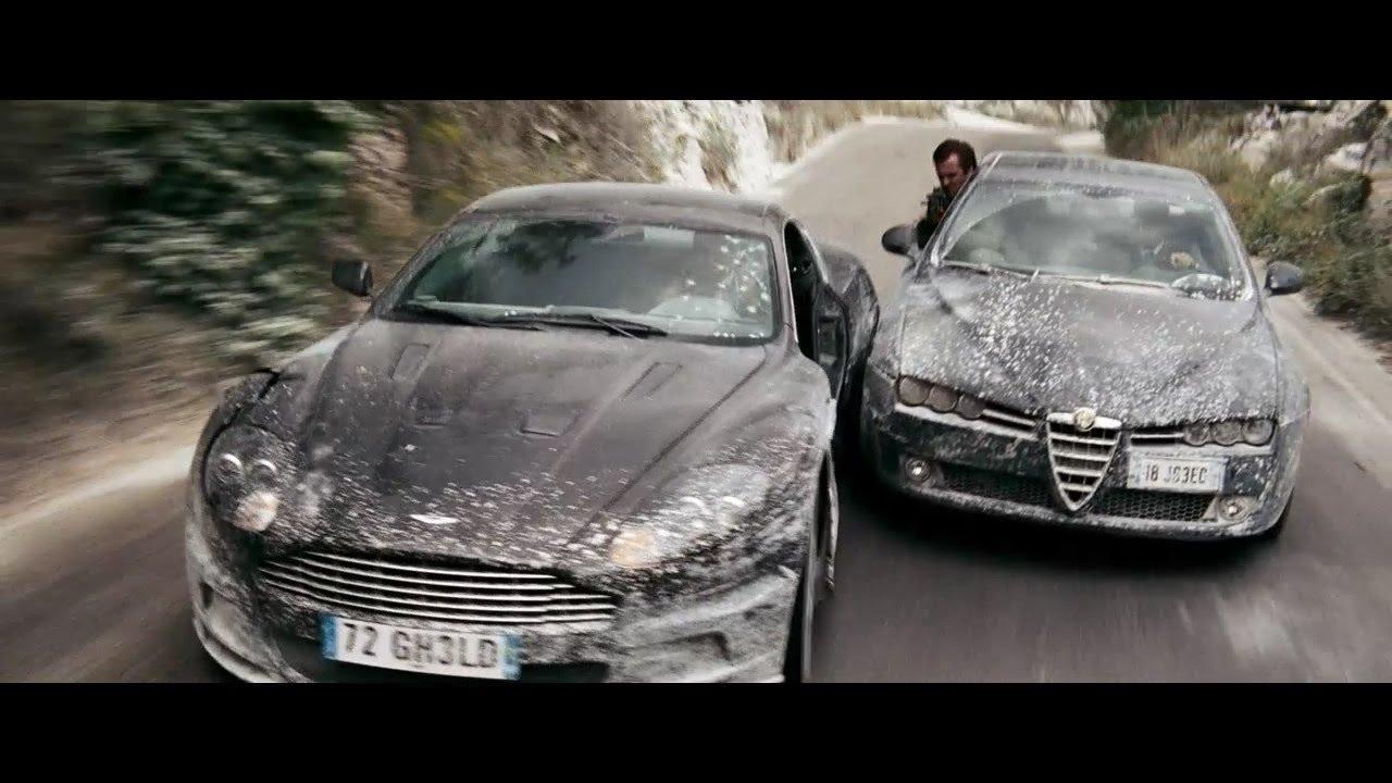 Quantum Of Solace 2008 Course Poursuite A L Aston Martin Dbs Scene D Ouverture Hd