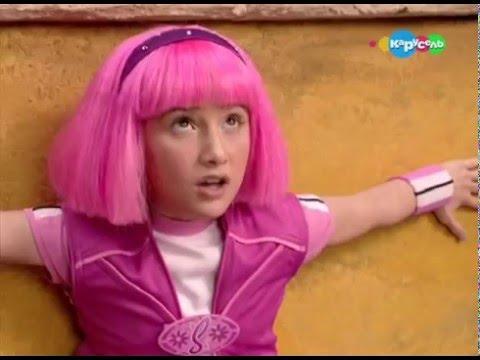 Мультфильм с девочкой с розовыми волосами