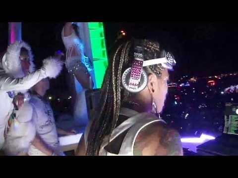 DJ ICON @ Opulent Temple White Party @ Dancetronauts, BM 2013 pt.2