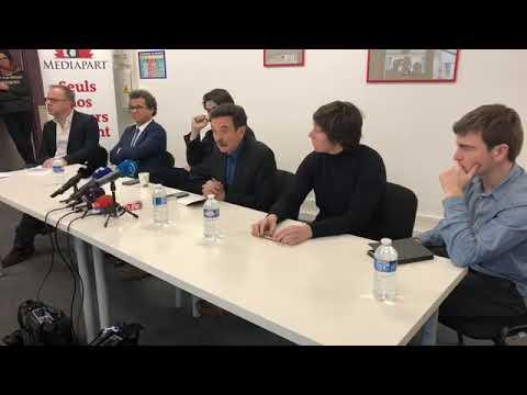 Tentative de perquisition à Mediapart : la conférence de presse