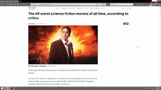 ScreenRecordings | The 69 Worst Sci-Fi Films