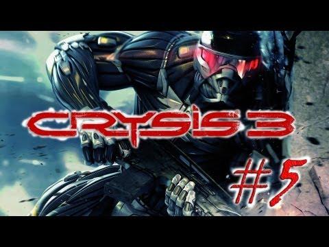 """Смотреть прохождение игры Crysis 3. Серия 5 - """"Я не поехал, эти видения - предсказания."""""""