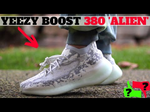 Adidas YEEZY BOOST 380 ALIEN Review & On Feet! (Worth Buying?!)