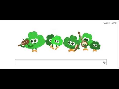 St Patrick's Day Google Doodle XO MOB Video