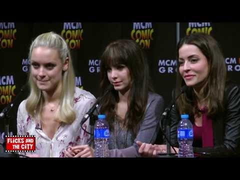 Lost Girl Comic Con Panel  Ksenia Solo, Rachel Skarsten, Emmanuelle Vaugier & Jay Firestone