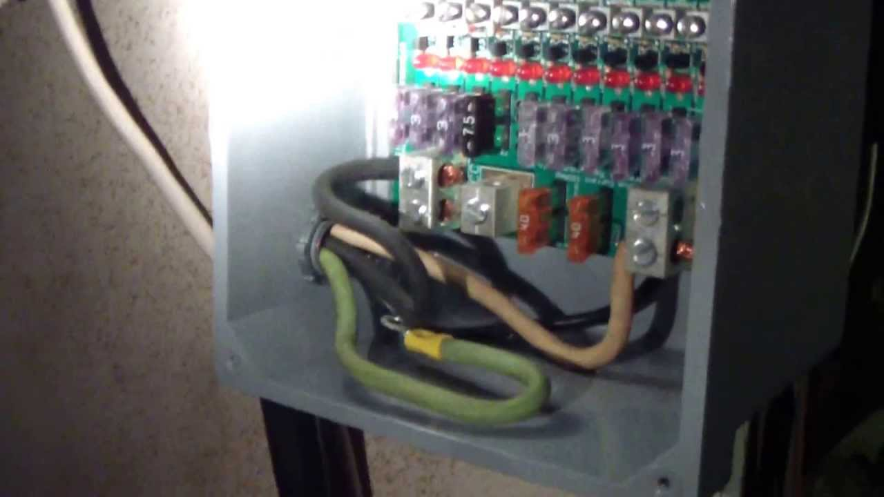 small resolution of 12 volt fuse panel wiring