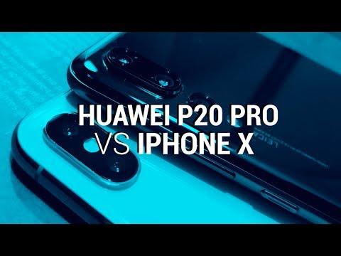 Comparativa de cámaras: Huawei P20 Pro vs iPhone X
