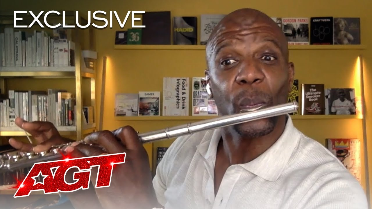 Terry Crews Showcases His Flute-Playing Skills! - America's Got Talent 2020