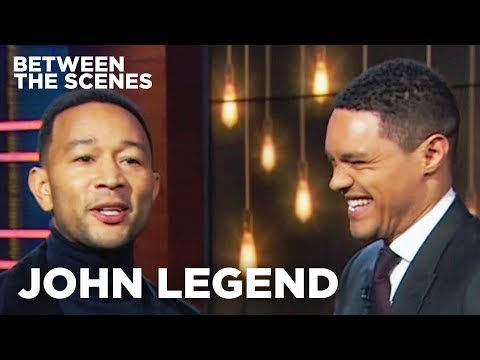 John Legend - Between the Scenes Guest Edition  The Daily Show