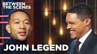 John Legend - Between the Scenes Guest Edition | The Daily Show