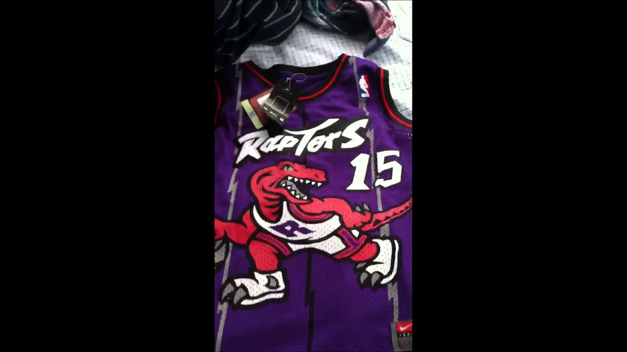 Toronto Raptors Vince Carter Jersey from AirFlyKicks.com - YouTube aff0d8c72