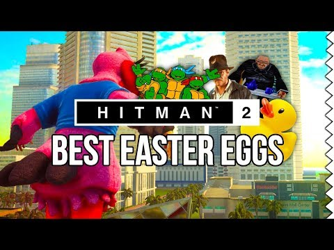 All HITMAN 2 Easter Eggs and Secrets! Part 1
