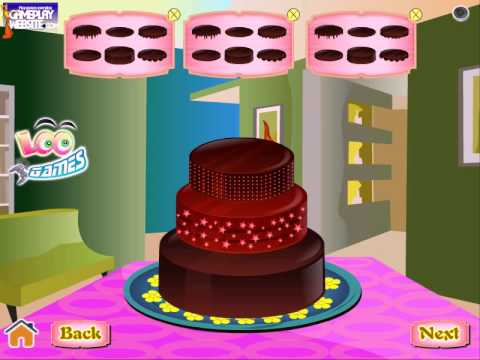 Sweet Chocolate Cake Cooking and baking games barbie cooking games