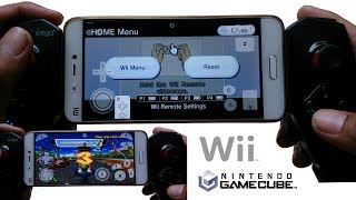 Nintendo Gamecube & Wii on Android - Tutorial & Game Test