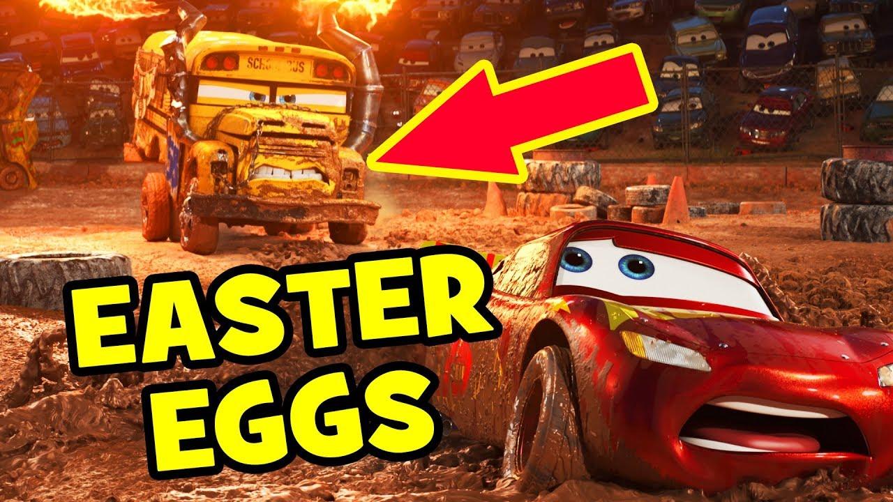 Cars  Hidden Easter Eggs