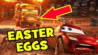 Cars 3 EASTER EGGS & Pixar Theory