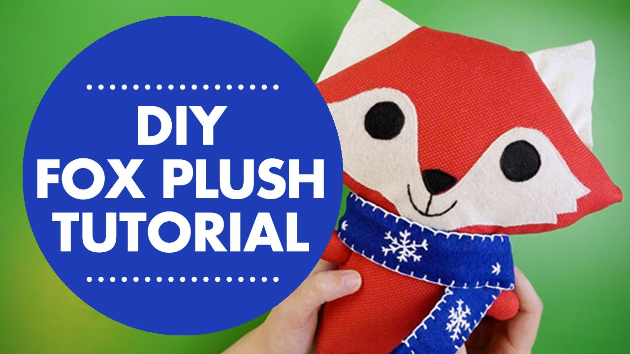Diy Fox Plush Tutorial With Simplicity Pattern 1081 Youtube