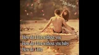 """Trisha Yearwood _ How Do I Live Without You  """" Eng.Sub """""""