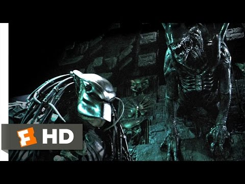AVP: Alien vs. Predator (2004) - Marking the Hunter Scene (3/5) | Movieclips from YouTube · Duration:  2 minutes 42 seconds