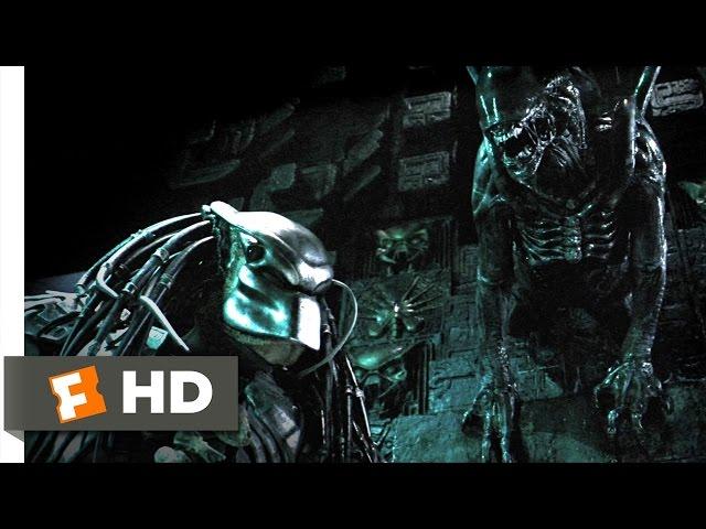 AVP: Alien vs. Predator (2004) - Marking the Hunter Scene (3/5) | Movieclips