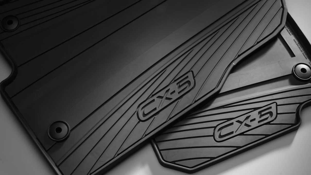 2013  2016 Mazda CX5 All Weather Floor Mats  Mazdagear