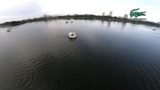 Flycam Hồ Bạch Đằng   TP Hải Dương