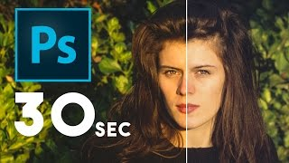 How to Remove Strong Color Casts in 30 Seconds | Photoshop
