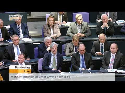 Bundestag: Beratung über neue Vorschriften für den Finanzmarkt am 18.02.2016