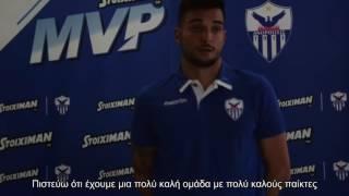 Stoiximan MVP Γιαν Κόπριβετς (ΑΕΛ / 6η αγωνιστική)