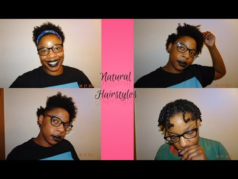 4 Hairstyles for Natural Hair | Mother & Daughter
