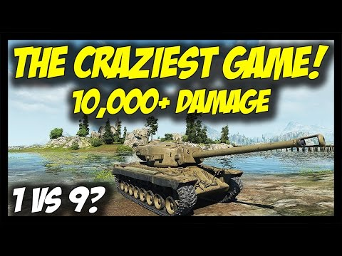 ► World of Tanks: The Craziest Battle! - 1 vs 9? - T30 Epic 10,000+ Damage Gameplay!