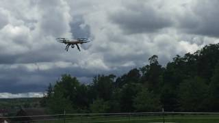 syma X8HW in Action