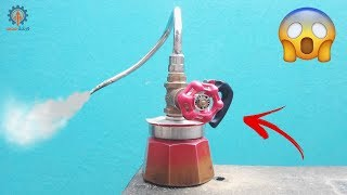 ان كنت من عشاق القهوة الساخنة عليك بمشاهدة الفيديو !!diy Milk Steamer Made From