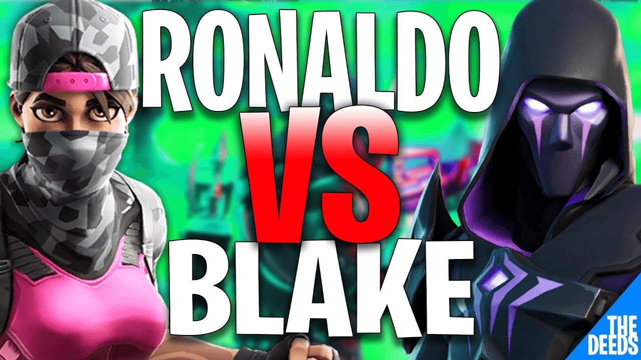 NRG Ronaldo 1 VS 1 Ghost Blake | Fortnite Creative 1v1 *NRG VS GHOST*