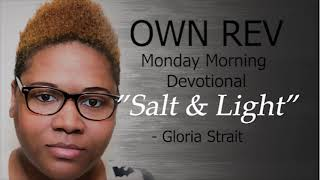 """Salt & Light"" with Gloria Strait & Dr. Hollen Meyer"