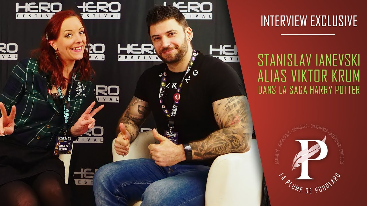 Interview exclusive : Stanislav Ianevski alias Viktor Krum (Harry Potter saga)