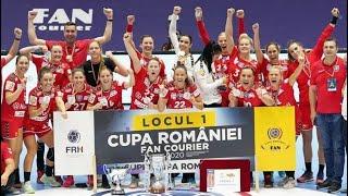 SCM Râmnicu Vâlcea - CSM București • Finala Cupei Romaniei 2020