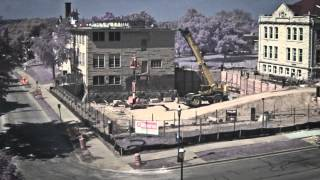 Science Building Construction Time-lapse 04 | Carroll University
