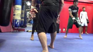 Japan Wolfman MMA Sparring 52 Hands Systema & Sakuraba Cross Ankle Lock