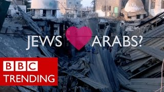 Gaza Crisis: Jews & Arabs Refuse To Be Enemies #BBCtrending